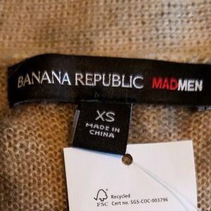 Banana Republic Sweaters - BANANA REPUBLIC Mad Men Animal Print Cardigan